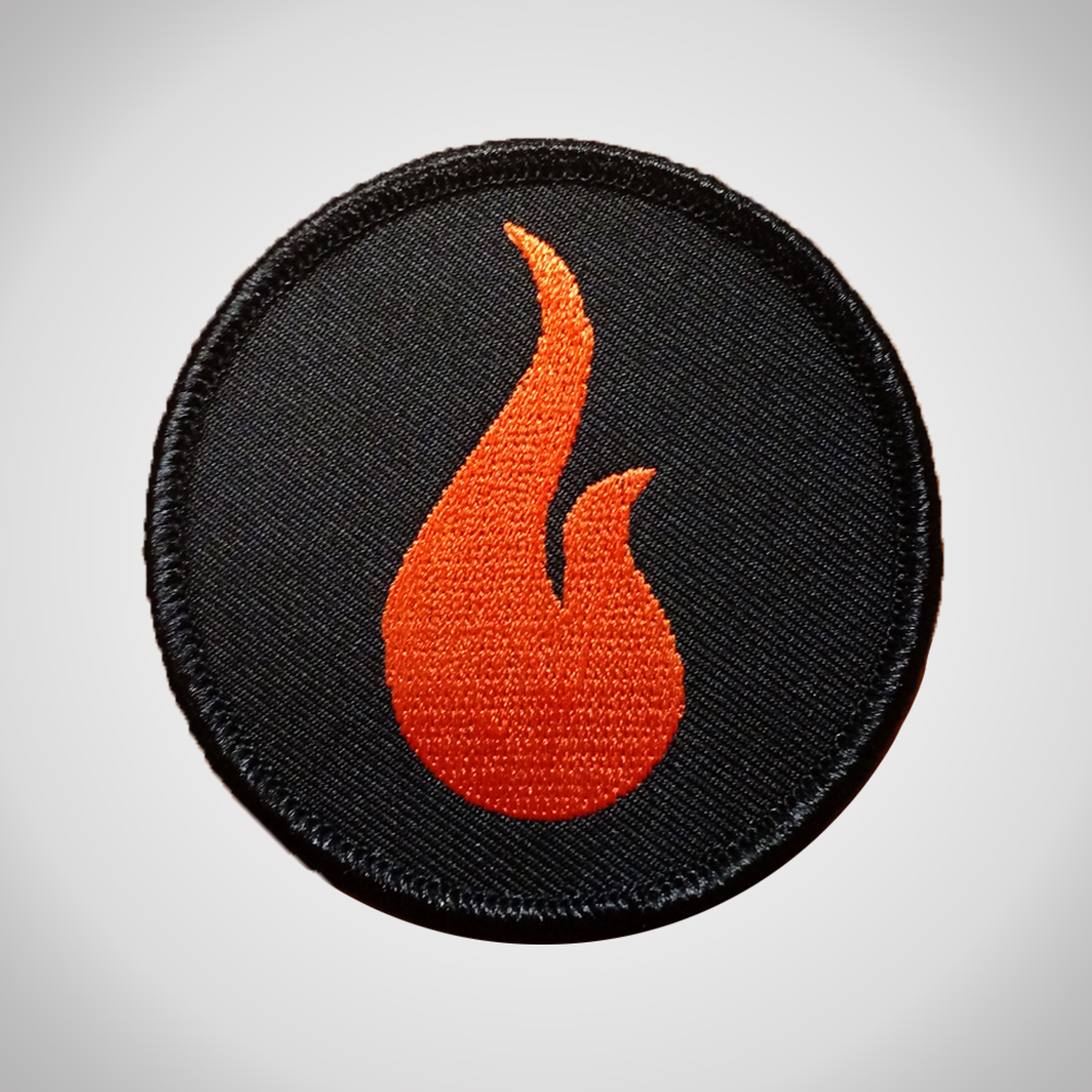 Black Flame Patch