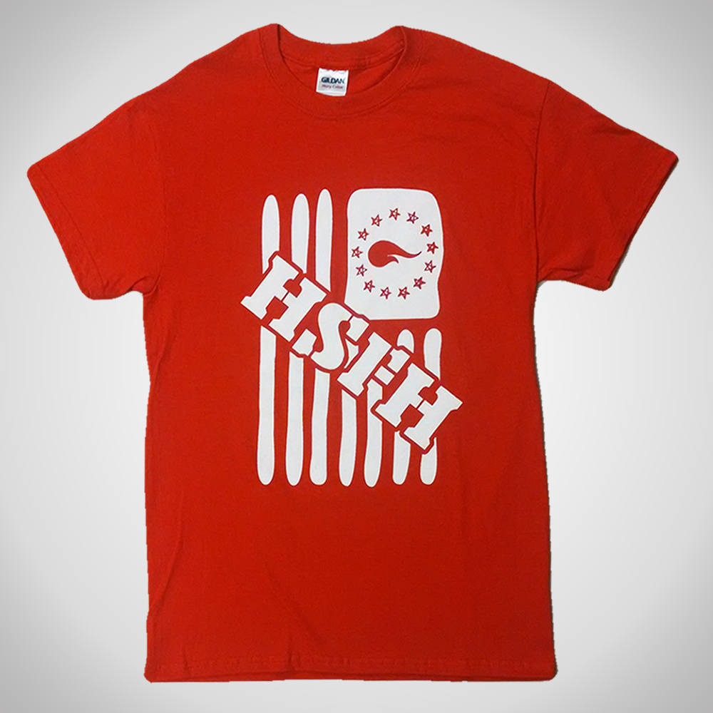 Red H S F H Flag T-shirt